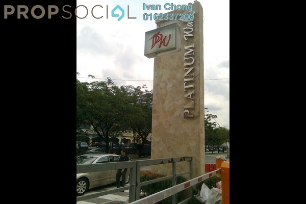 For Sale Office at Platinum Walk, Setapak Leasehold Semi Furnished 0R/0B 580k