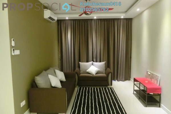 For Rent Condominium at Scenaria, Segambut Freehold Fully Furnished 2R/2B 2.5k