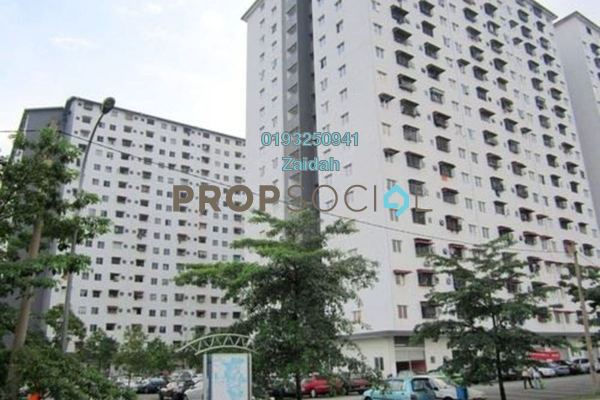 For Sale Apartment at Ken Rimba, Shah Alam Freehold Unfurnished 3R/2B 200k