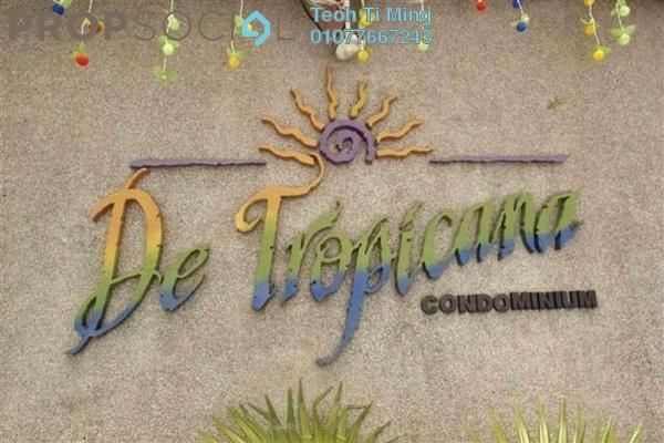 For Sale Condominium at De Tropicana, Kuchai Lama Leasehold Semi Furnished 3R/2B 358k