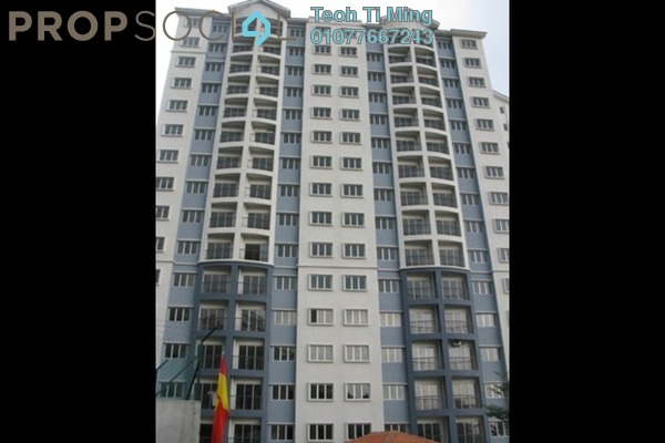 For Sale Condominium at Nusa Mewah, Cheras Leasehold Semi Furnished 3R/2B 330k
