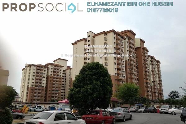 For Sale Apartment at Sri Lavender Apartment, Kajang Freehold Unfurnished 3R/2B 275k