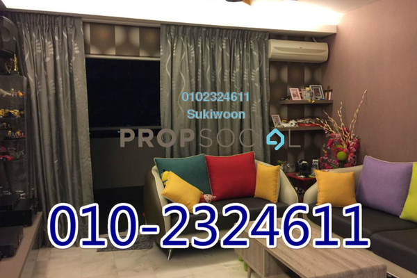 For Rent Apartment at Seri Puri, Kepong Freehold Semi Furnished 3R/2B 1.4k