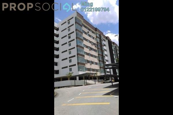 For Rent Apartment at Taman Kajang Mulia, Kajang Freehold Unfurnished 3R/2B 1k