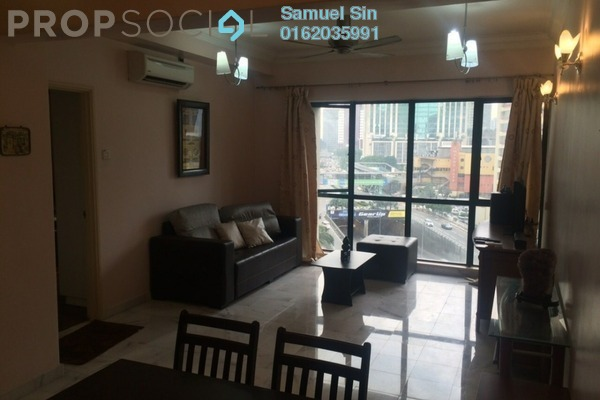 For Rent Condominium at Vista Damai, KLCC Freehold Fully Furnished 2R/2B 2.8k
