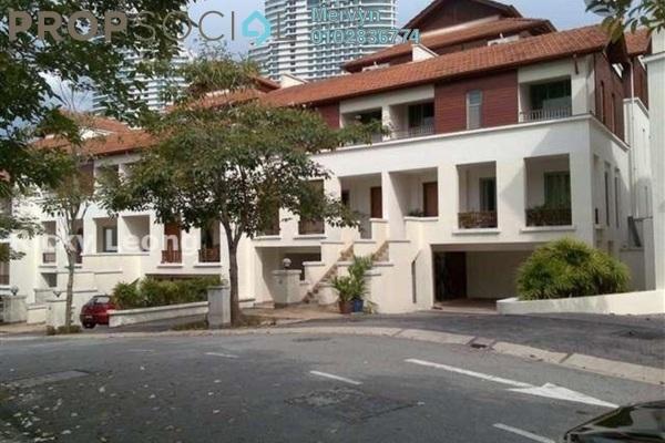 For Rent Townhouse at Sri Bukit Persekutuan, Bangsar Freehold Semi Furnished 4R/6B 9.5k