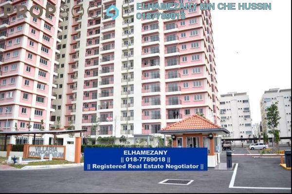 For Sale Condominium at PJ South Citi, PJ South Leasehold Unfurnished 3R/2B 365k