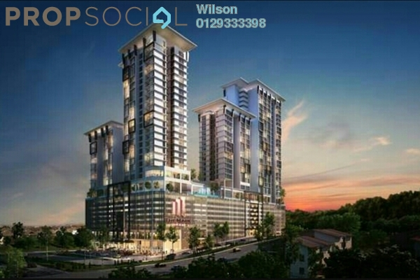 For Sale Condominium at The Mark, Cheras Leasehold Fully Furnished 1R/1B 496k