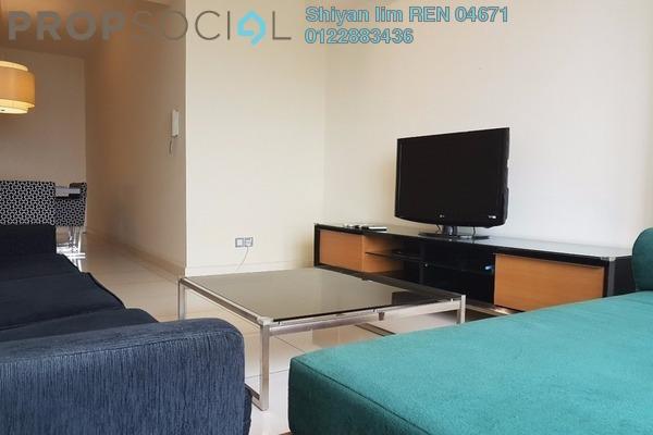 For Rent Condominium at Tiffani Kiara, Mont Kiara Freehold Fully Furnished 3R/2B 5k