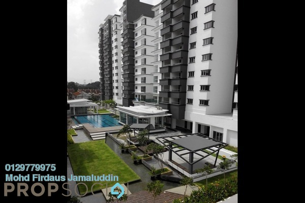 For Rent Condominium at Tiara ParkHomes, Kajang Freehold Semi Furnished 4R/3B 1.35k