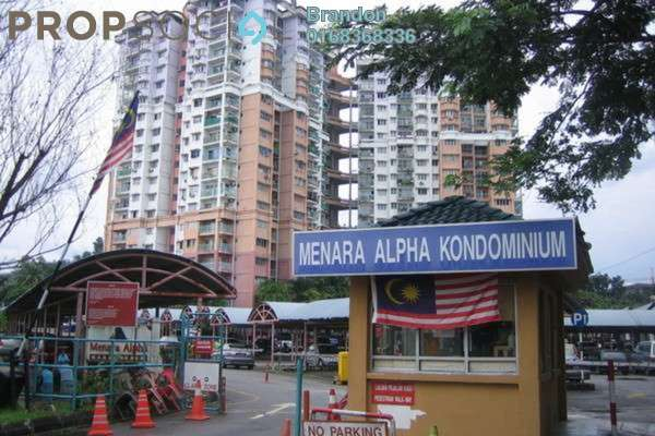 For Rent Condominium at Menara Alpha, Wangsa Maju Leasehold Semi Furnished 3R/2B 1.5k