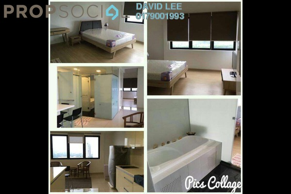 For Rent SoHo/Studio at Encorp Strand Residences, Kota Damansara Leasehold Fully Furnished 1R/1B 1.8k