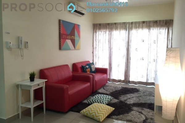 For Rent Condominium at Metropolitan Square, Damansara Perdana Leasehold Fully Furnished 2R/2B 2.6k