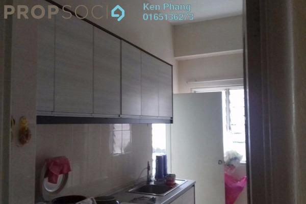 For Rent Condominium at Greenview Residence, Bandar Sungai Long Freehold Semi Furnished 4R/2B 1.5k