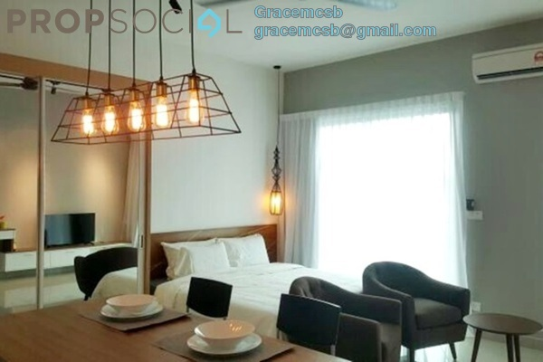 For Rent SoHo/Studio at CyberSquare, Cyberjaya Freehold Fully Furnished 0R/1B 1.7k