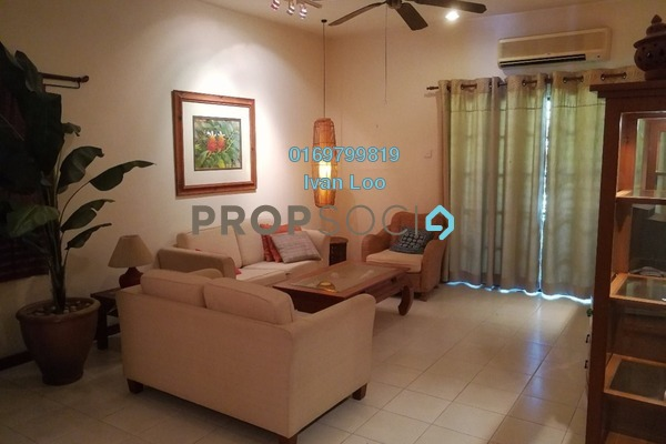 For Rent Townhouse at Parkville Garden Townhouse, Sunway Damansara Leasehold Fully Furnished 4R/3B 2.7k