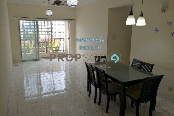 For Rent Condominium at Menara Menjalara, Bandar Menjalara Freehold Semi Furnished 4R/2B 1.5k