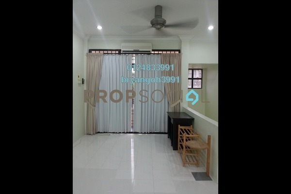 For Rent Townhouse at Lorong Kenari, Sungai Ara Freehold Fully Furnished 3R/2B 1.2k