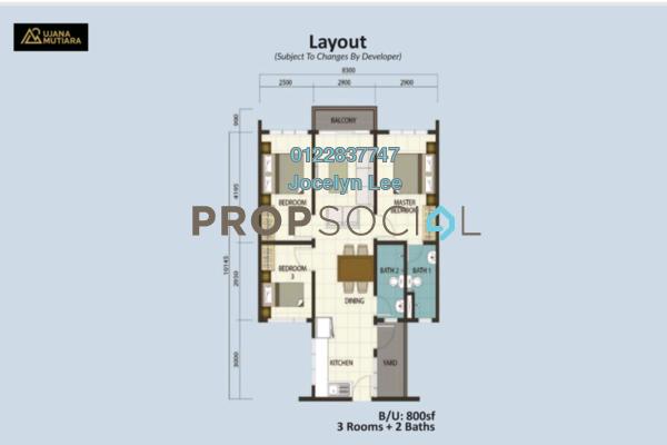 For Sale Apartment at Desa Tun Razak, Bandar Tun Razak Leasehold Unfurnished 3R/2B 198k