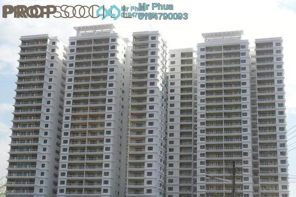 For Rent Condominium at 1-Sky, Bayan Baru Leasehold Semi Furnished 3R/2B 1.8k