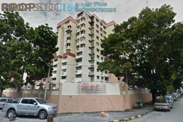 For Rent Condominium at Taman Pekaka, Sungai Dua Freehold Fully Furnished 3R/1B 1.4k