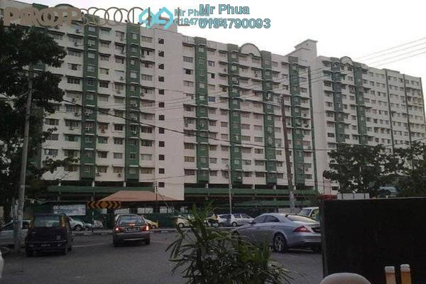 For Rent Condominium at Nibong Indah, Sungai Nibong Freehold Semi Furnished 3R/2B 1.1k