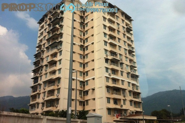 For Rent Condominium at Hillside Garden, Tanjung Bungah Freehold Fully Furnished 3R/2B 1.2k