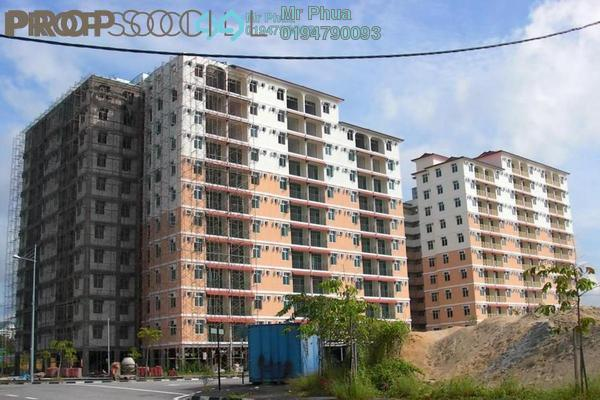 For Rent Apartment at Saujana Damai, Sungai Ara Freehold Semi Furnished 3R/2B 1k