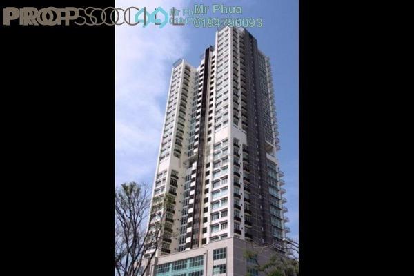 For Rent Condominium at Reflections, Sungai Ara Freehold Semi Furnished 3R/2B 1.5k