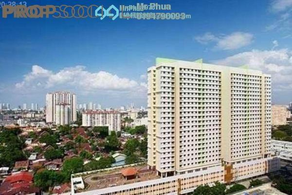 For Rent Condominium at Harmony View, Jelutong Freehold Unfurnished 3R/1B 1.1k