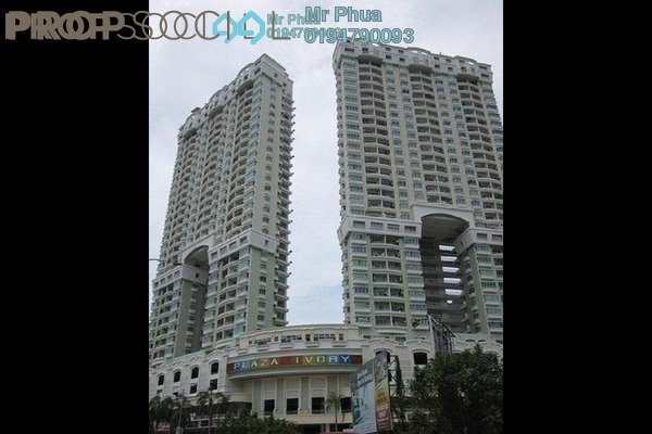 For Rent Condominium at Plaza Ivory, Bukit Gambier Freehold Fully Furnished 3R/2B 1.6k