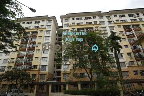 For Sale Condominium at Taman Abadi Indah, Taman Desa Leasehold Semi Furnished 3R/2B 338k
