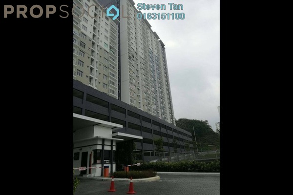 For Sale Apartment at Saujana Permai Apartment, Kajang Freehold Semi Furnished 3R/2B 310k