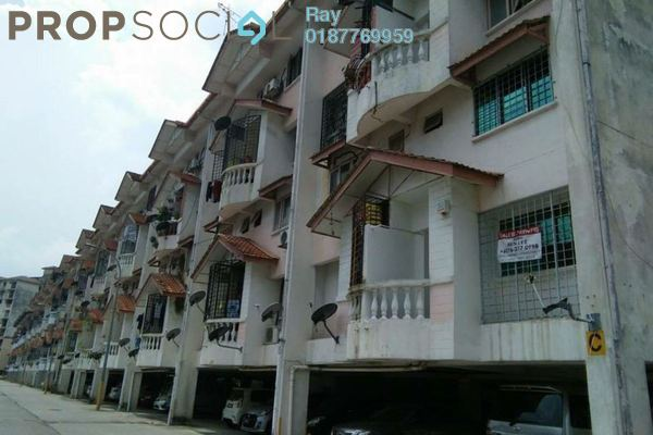 For Rent Apartment at Pandan Perdana, Pandan Indah Leasehold Fully Furnished 2R/3B 1.3k