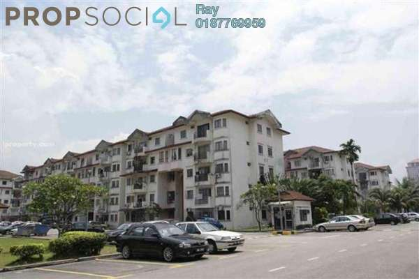 For Rent Condominium at Kenari Court, Pandan Indah Leasehold Semi Furnished 3R/2B 1.3k