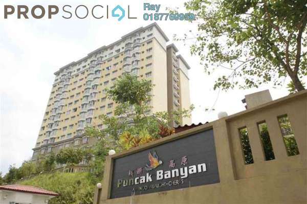 For Rent Condominium at Puncak Banyan, Cheras Freehold Fully Furnished 3R/2B 1.45k