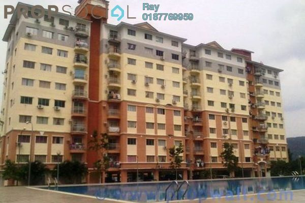 For Rent Condominium at Sri Hijau, Bandar Mahkota Cheras Freehold Fully Furnished 3R/2B 1k