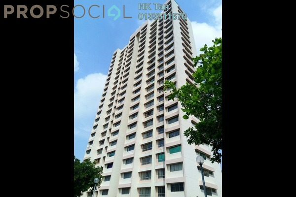 For Sale Condominium at OG Heights, Old Klang Road Freehold Semi Furnished 3R/2B 370k