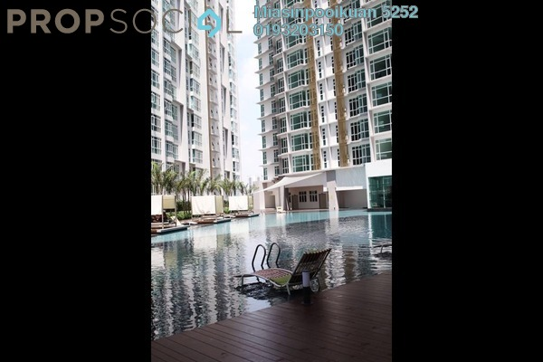 For Rent Serviced Residence at The Court, Sungai Besi Freehold Semi Furnished 2R/2B 1.7k