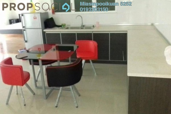 For Rent Condominium at Ritze Perdana 2, Damansara Perdana Leasehold Fully Furnished 1R/1B 1.6k