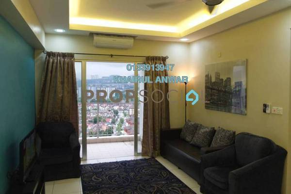 For Sale Condominium at Axis Residence, Pandan Indah Leasehold Semi Furnished 3R/2B 480k