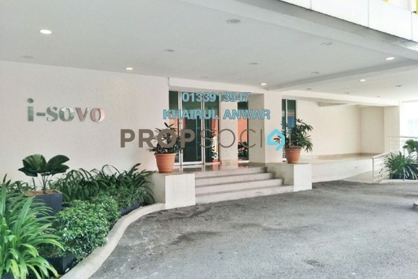 For Sale SoHo/Studio at i-City, Shah Alam Freehold Semi Furnished 0R/1B 320k