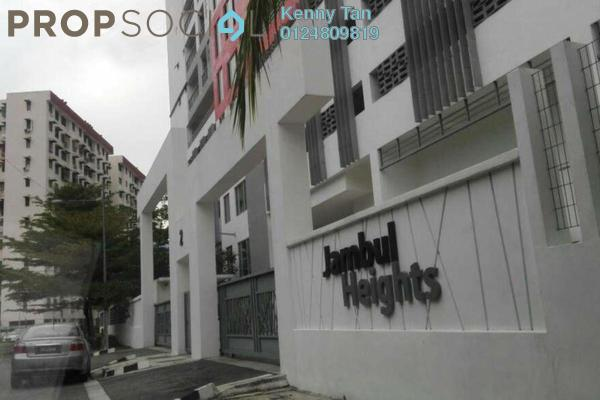 For Rent Apartment at Jambul Heights, Bukit Jambul Freehold Fully Furnished 3R/2B 1.2k