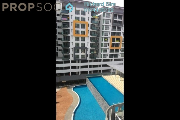 For Rent Condominium at Mahkota Garden Condominium, Bandar Mahkota Cheras Freehold Semi Furnished 4R/3B 1.4k