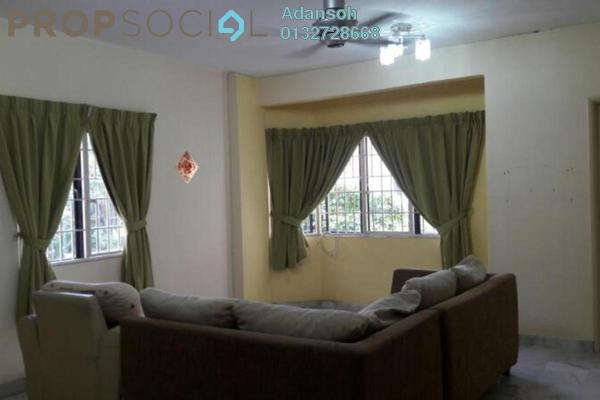 For Rent Apartment at Perdana Puri, Kepong Freehold Semi Furnished 3R/2B 1.2k