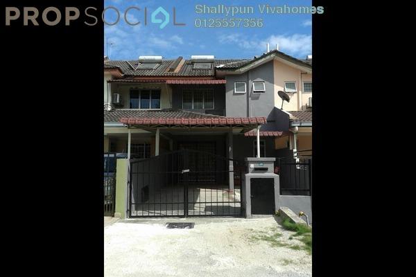 For Sale Terrace at PU10, Bandar Puchong Utama Freehold Semi Furnished 4R/3B 890k