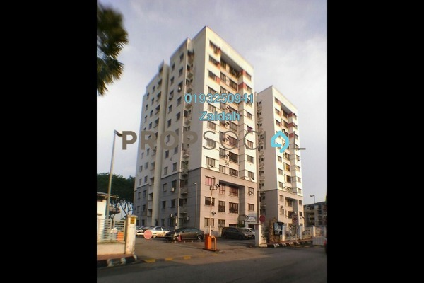 For Sale Apartment at Section 24, Shah Alam Leasehold Unfurnished 3R/2B 299k