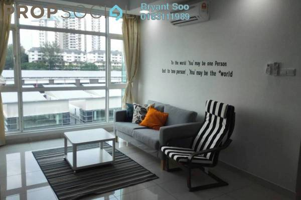 For Rent Condominium at Central Residence, Sungai Besi Freehold Fully Furnished 3R/2B 2.5k