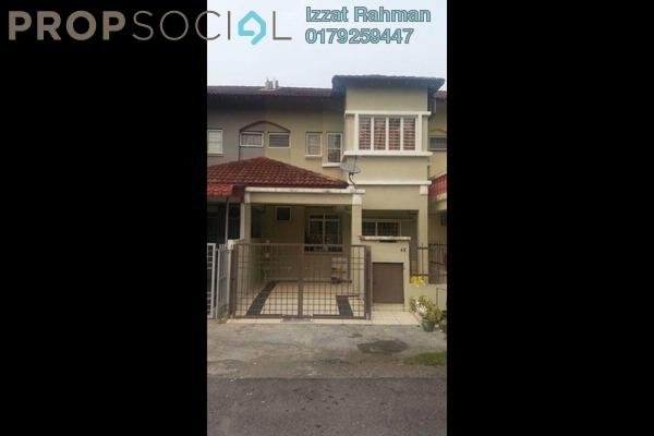 For Sale Terrace at Kasawari , Bandar Puchong Jaya Freehold Semi Furnished 4R/4B 660k