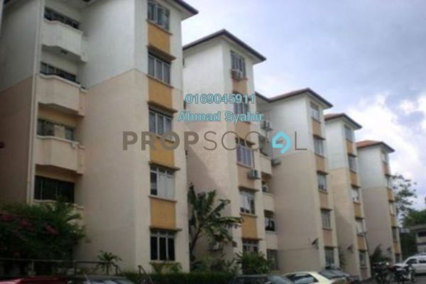 For Sale Apartment at Sri Melor Apartment, Ukay Leasehold Semi Furnished 3R/2B 230k